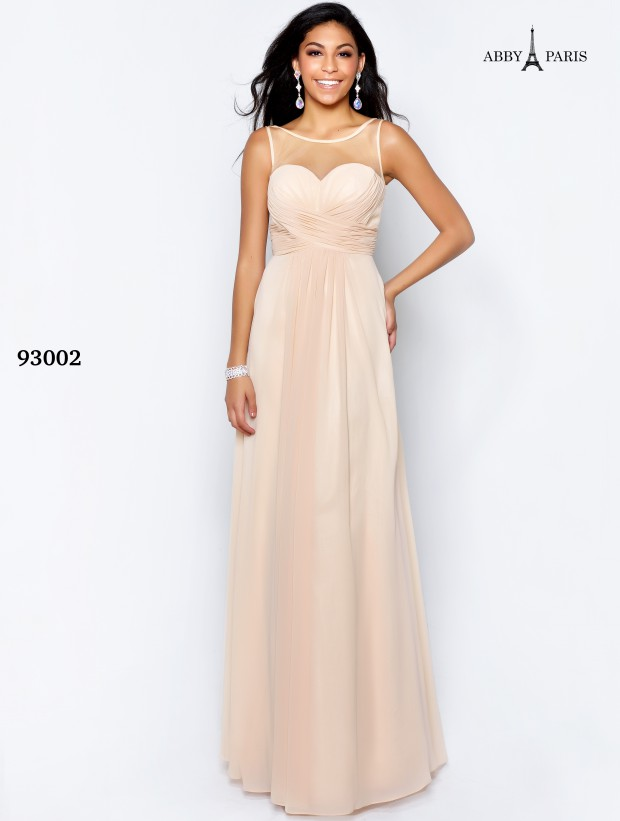Lucci Lu Long Chiffon Dress