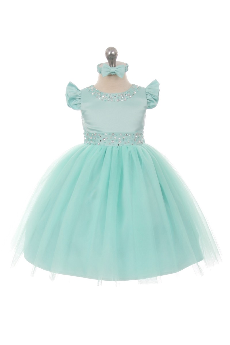 Girl Mint Dress