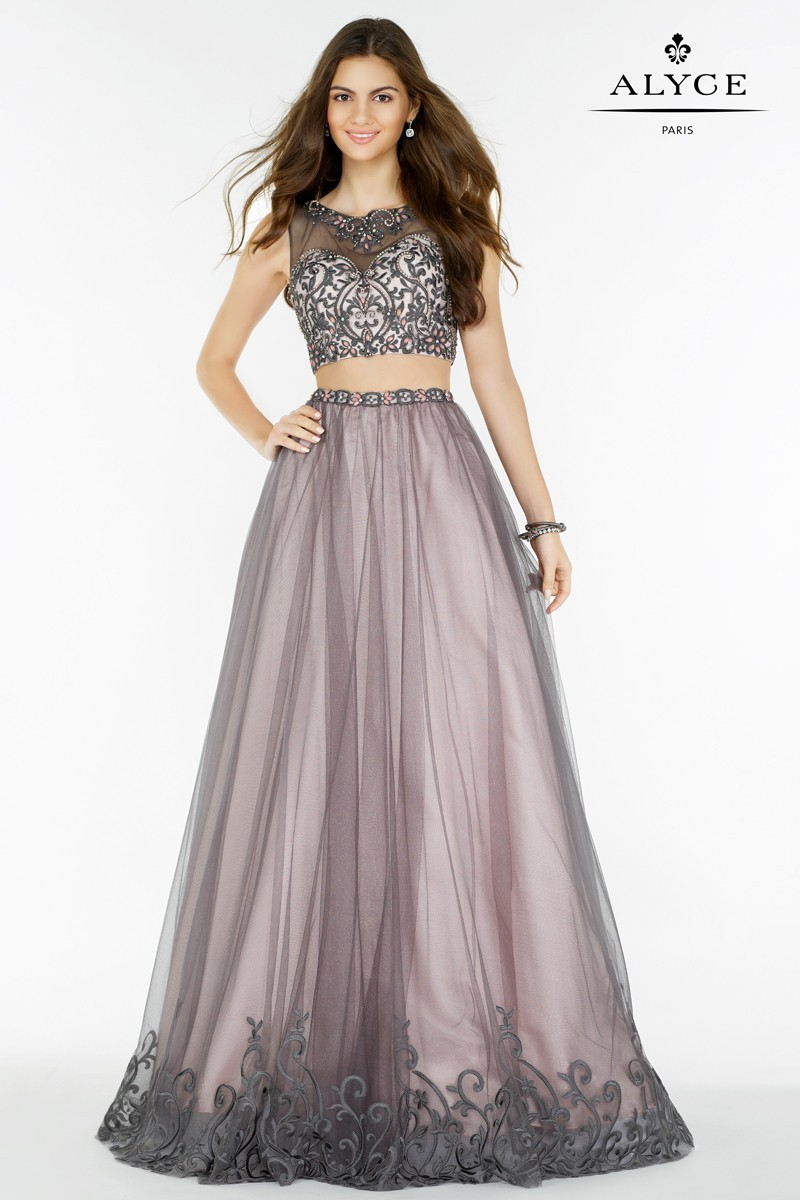 Alyce Paris Two Piece Gown