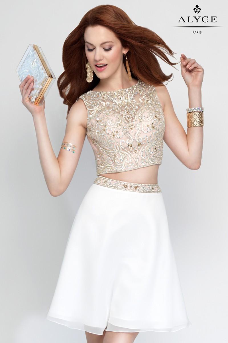 Alyce Paris Homecoming Short Dress