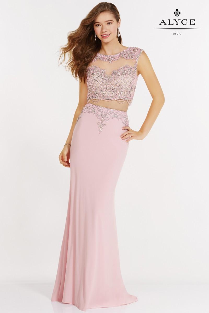Alyce Paris Two Piece Long Dress