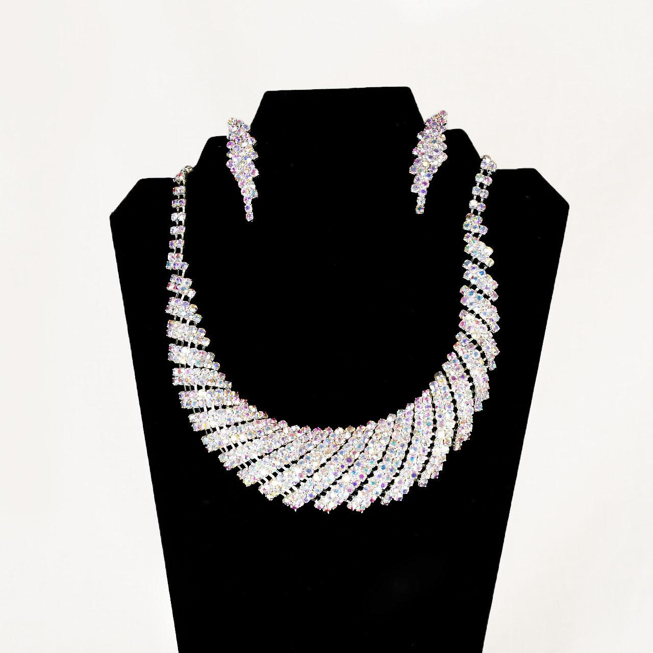 Iridescent Crystal Jewelry