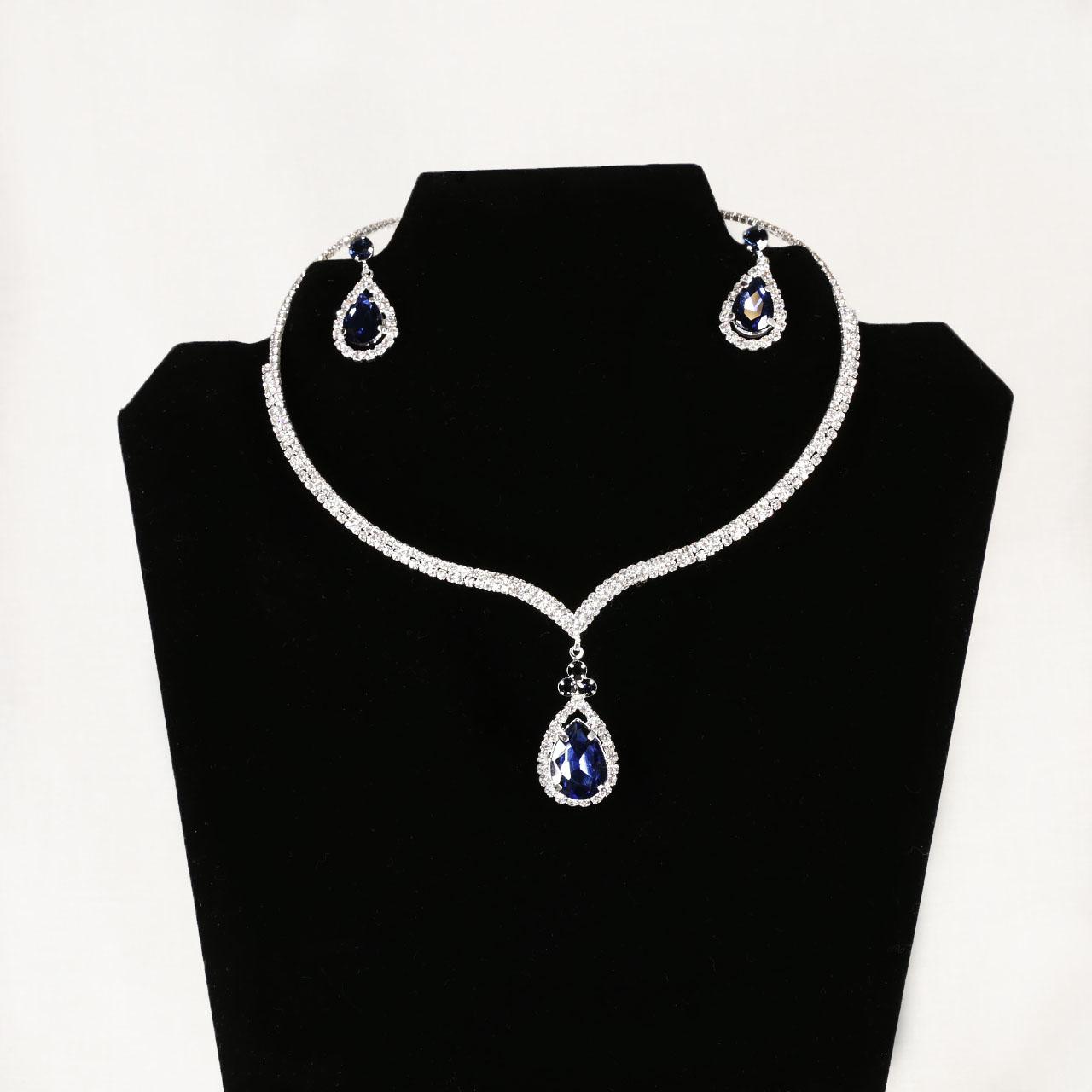 Navy Stone Jewelry Set