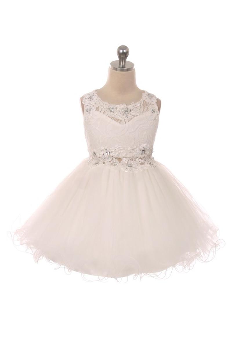 Girl Ivory Dress