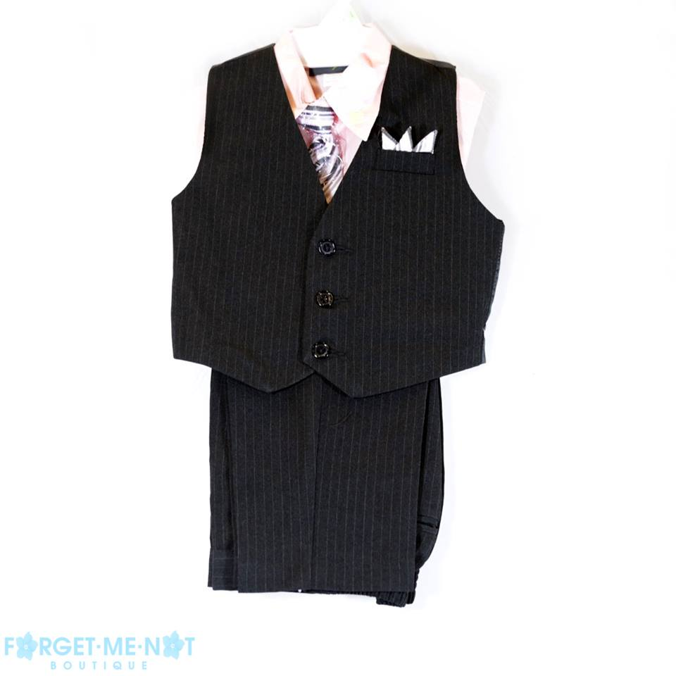 Gabriel Boys' 4 Piece Vest Set