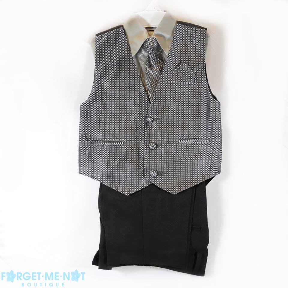 Gabriel Boys Dress Formal Vest Set