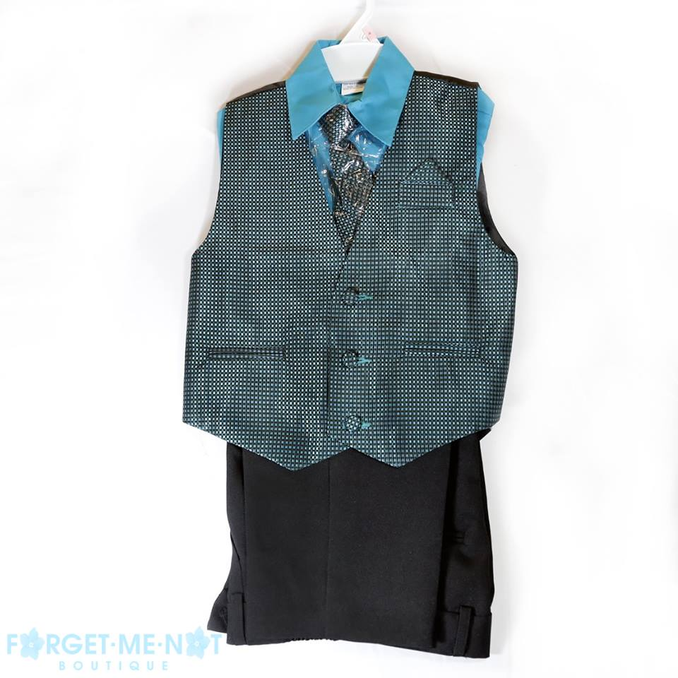 Gabriel Boys Dressy Formal Vest Set