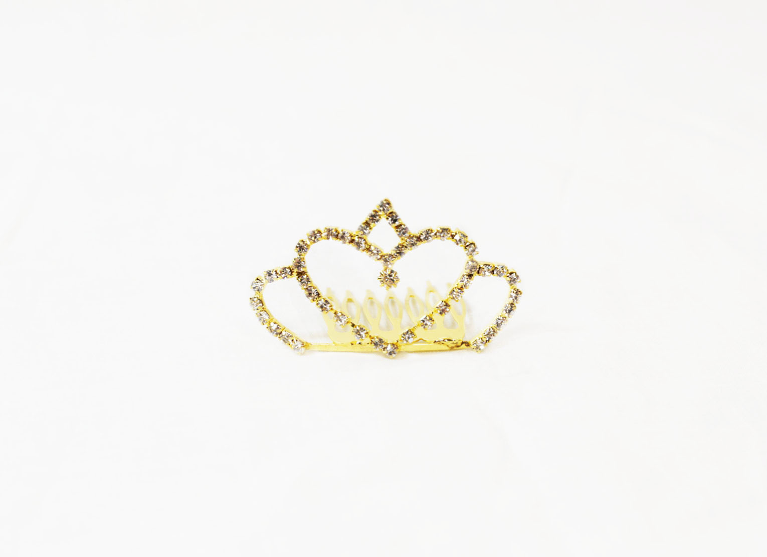 Gold Heart Child's Tiara