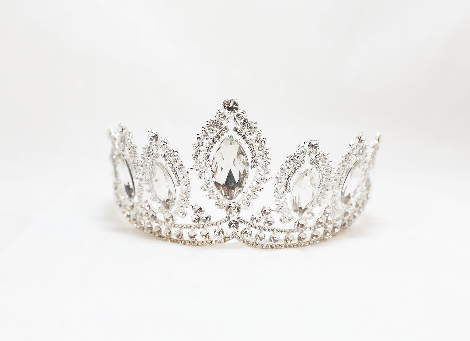 Christina Collection Rhinestone Crystal Crown