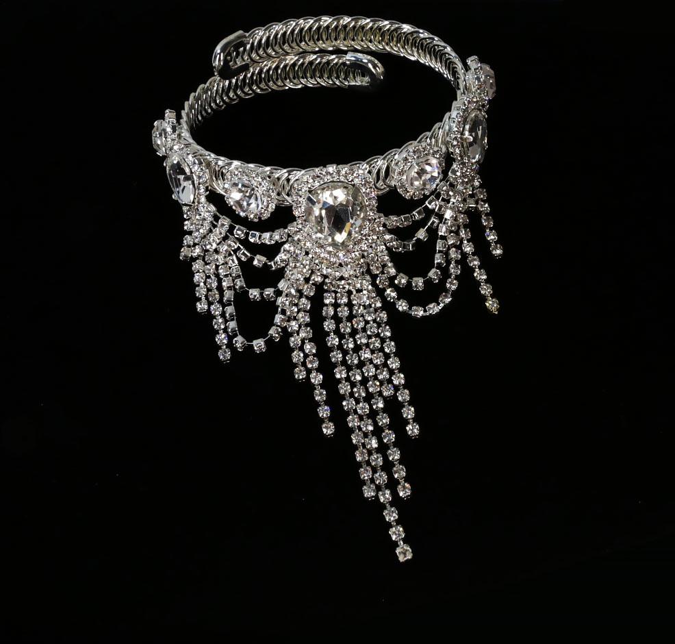 Dangle Chandelier Crystal Bracelets