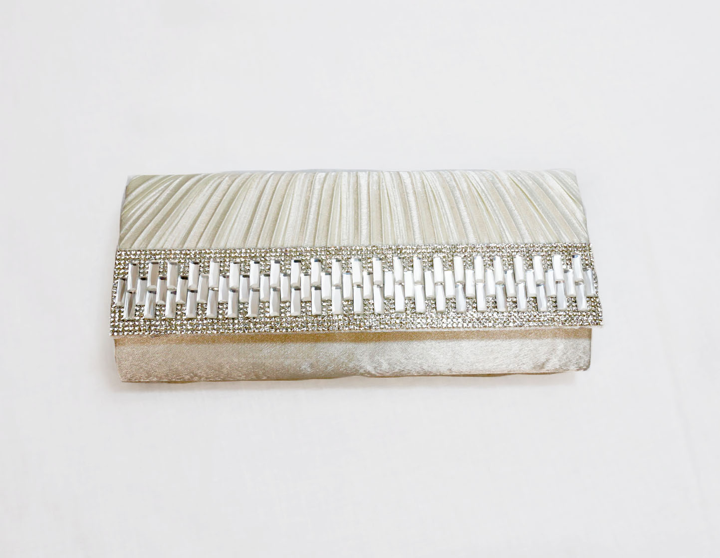 Sophia Collections Crystal Evening Clutch Bag